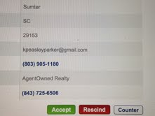The Accept Button Buying a Foreclosure in Sumter, SC