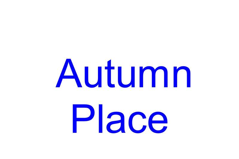 Autumn Place